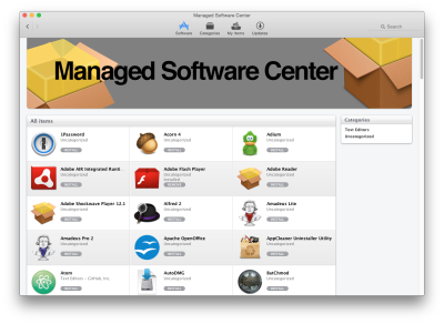 Managed System and Software Updates for your Mac